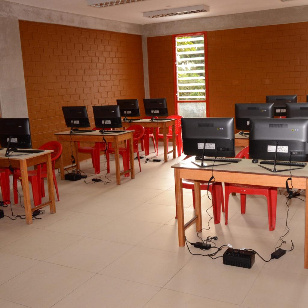 Salle informatique IUTEA